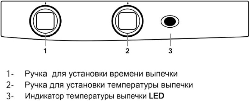 Конвекционная печь UNOX XF 043