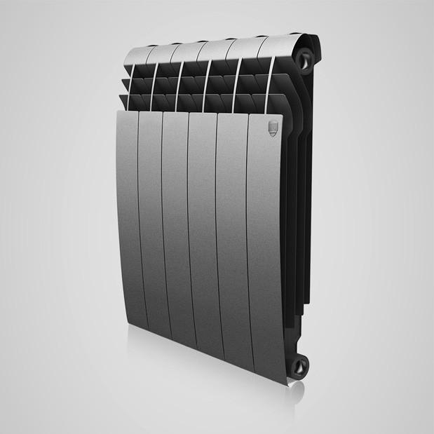 Радиатор Royal Thermo Biliner 500/Silver Satin (8 секций)