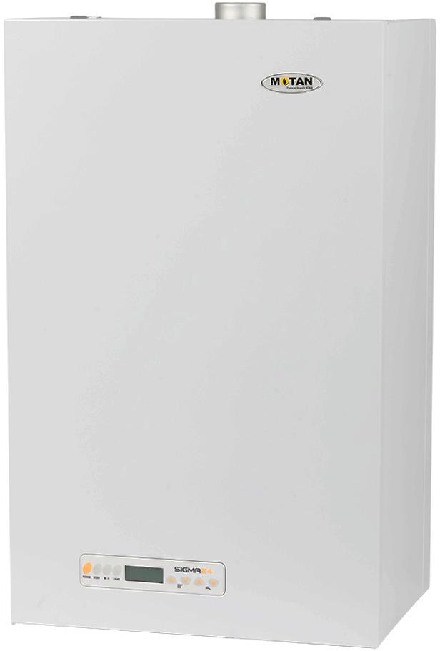 Газовый котел Köber 24 кВт (дымоходный)