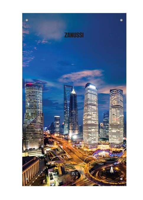 Газовая колонка Zanussi GWH 10 Fonte Glass METROPOLI