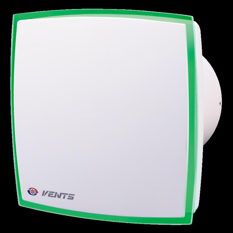 Вентилятор осевой декоративный Вентс 100 ЛД Лайт Зеленый