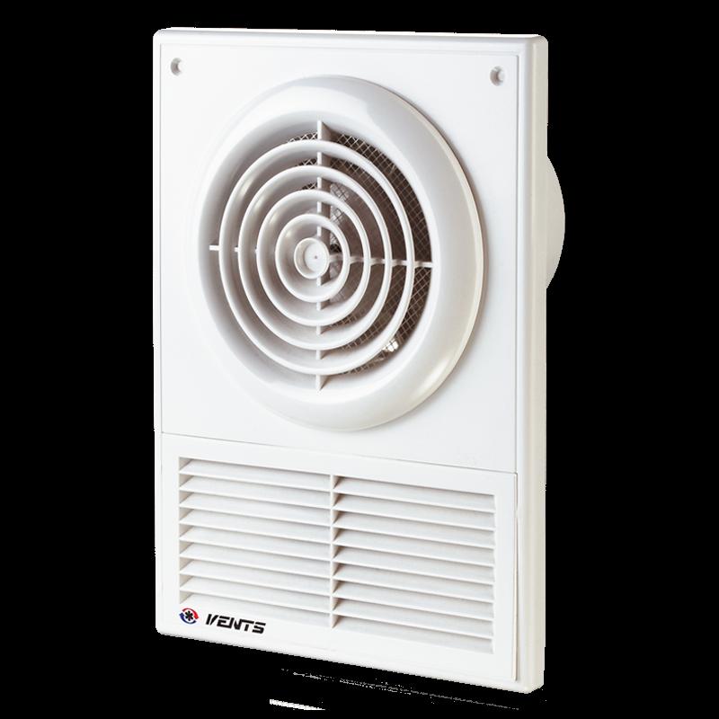 Вентилятор осевой настенно-потолочный Вентс 100 Ф