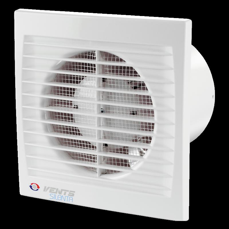 Вентилятор осевой настенно-потолочный Вентс 100 Силента-С