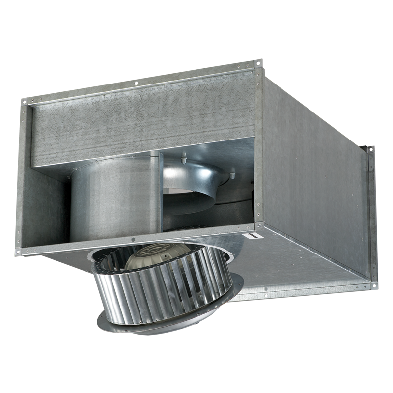 Вентилятор канальный центробежный для прямоуголных каналов Вентс ВКПФ 4Д 600х350