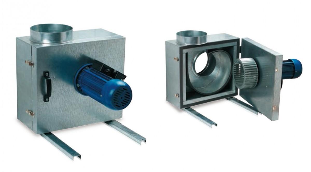 Вентилятор шумоизолированный Вентс КСК 250 4Д